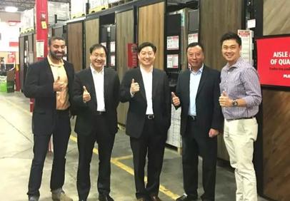 qy700千亿国际董事长走访美国分公司,开展全球合作!