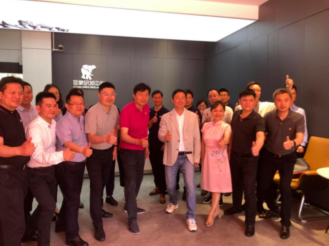 平博88研发,科技驱动——平博88研发中心新实验工厂开工典礼,暨首片样板下线仪